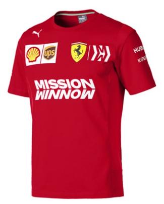 Tímové Pánske tričko Scuderia Ferrari