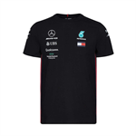 Mercedes AMG Petronas Motorsport Mens Team T-shirt Black