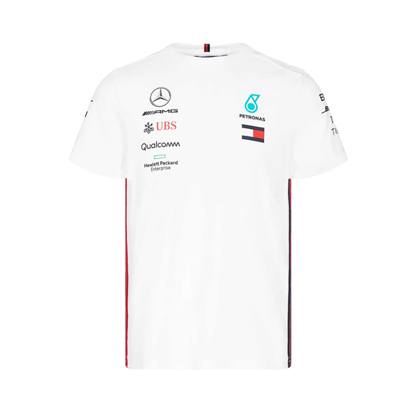 Mercedes AMG Petronas Motorsport Mens Team T-shirt White