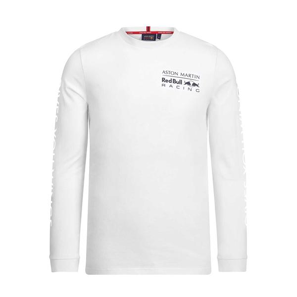 Aston Martin Red Bull Racing Mens Longsleeve T-Shirt White