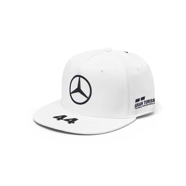 2019 Mercedes Germany AMG Petronas Motorsport F1 Lewis Hamilton Cap White