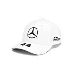 2019 Mercedes Germany AMG Petronas Motorsport F1 Lewis Hamilton Baseball Cap White