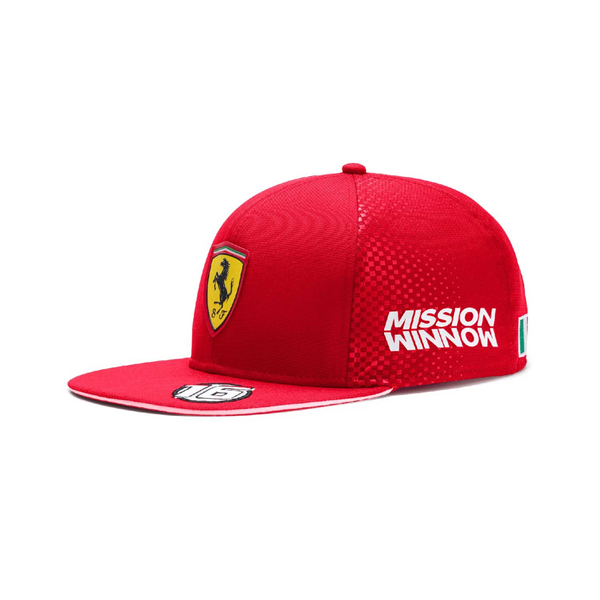 Šiltovka Scuderia Ferrari Italy Team Leclerc cap red