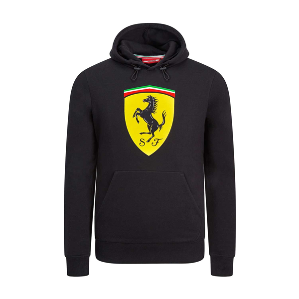 Pánska Mikina Scuderia Ferrari čierna