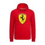 Pánska Mikina Scuderia Ferrari v červenej farbe.