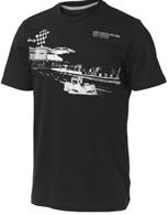Mercedes GP Fan Shirt Graphic Tee Black