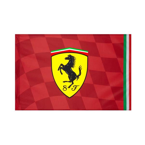 Vlajka Scuderia Ferrari