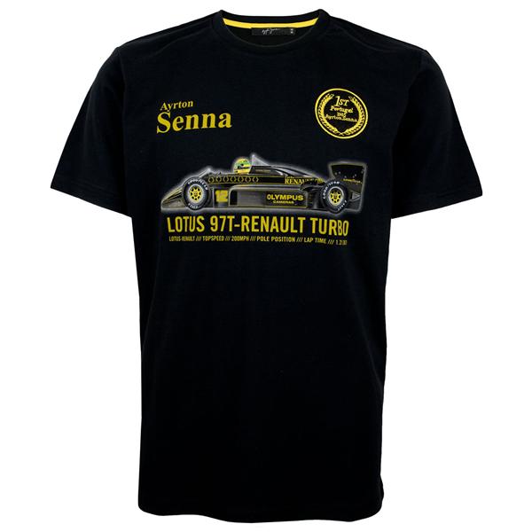 Tričko Ayrton Senna Lotus