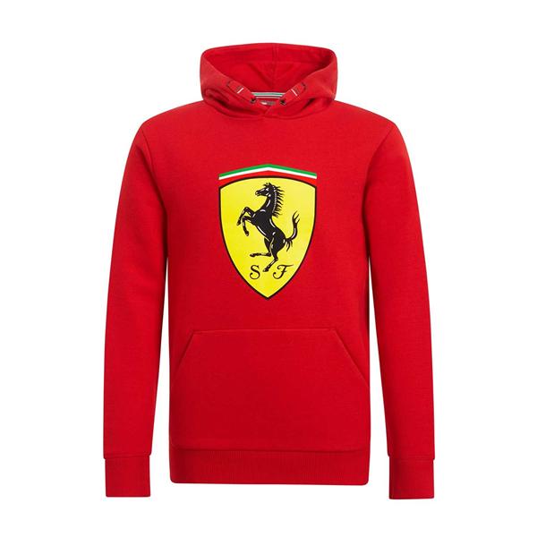Detská Mikina Scuderia Ferrari veľký znak