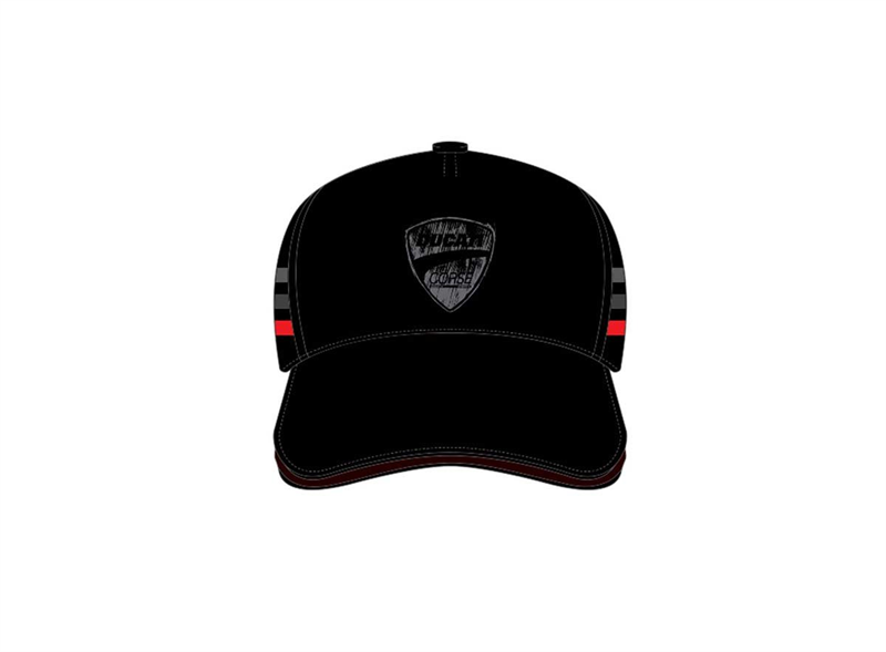 Flock Ducati Black Cap