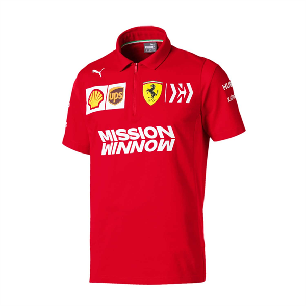 Scuderia Ferrari 2019 Replica men's polo shirt