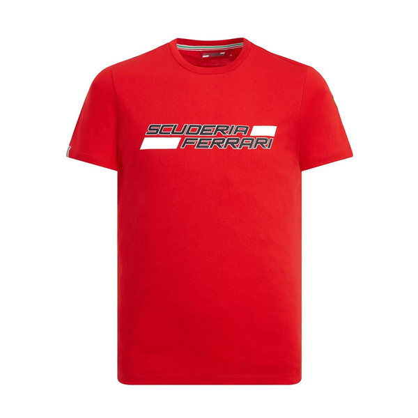 Scuderia Ferrari Mens Logo T-Shirt red