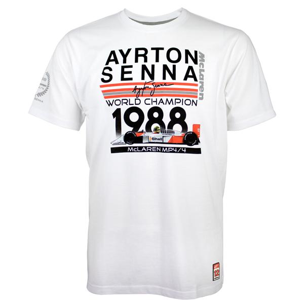 Ayrton Senna tričko  World Champion 1988 McLaren