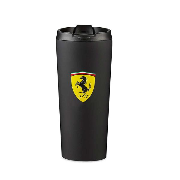 Termo Hrnček Scuderia Ferrari čierny.