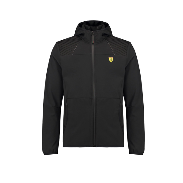 Vetrovka Softshell Scuderia Ferrari čierna