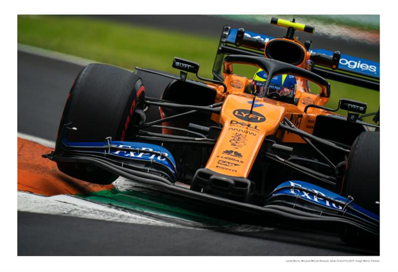 Plagát McLaren Lando Norris