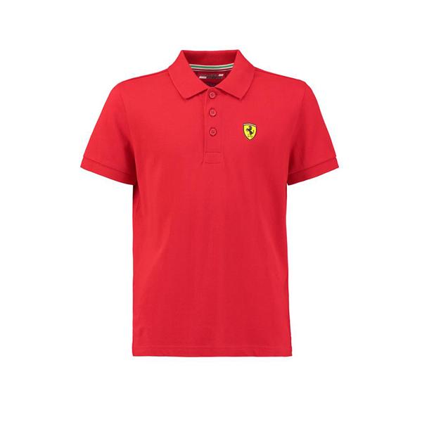 Pólo Košeľa Scuderia Ferrari červená