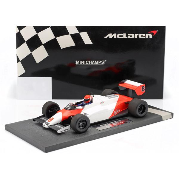 Niki Lauda McLaren MP4/1C #8 2nd USA West GP Formula 1 1983 1/18