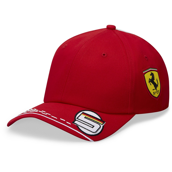 Scuderia Ferrari F1 2020 Sebastian Vettel Team Hat Red