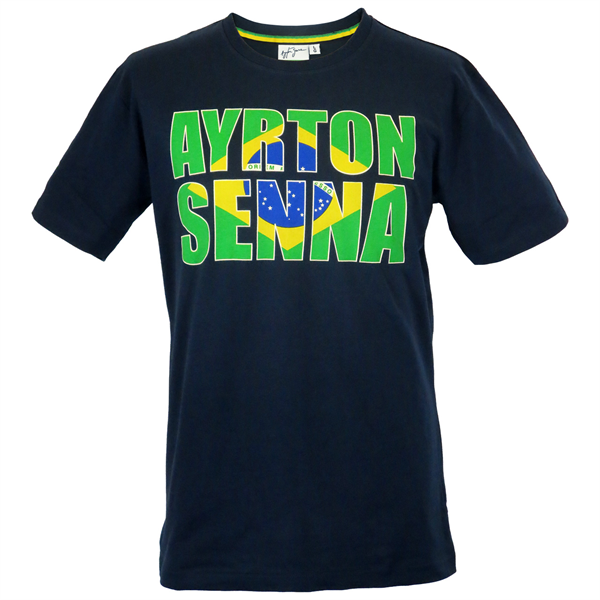 Tričko Ayrton Senna Brazília