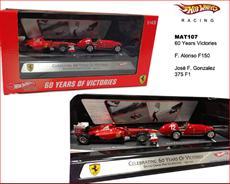 Exlúzivny set Scuderia Ferrari. 60 rokov víťazstva. 1951-2011