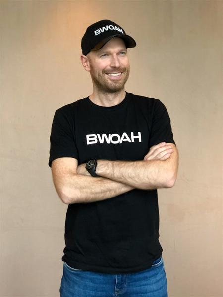 Čierne tričko Bwoah
