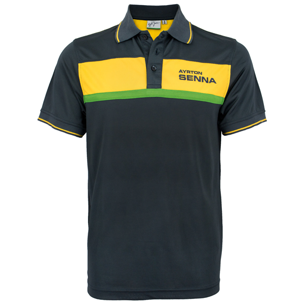 Ayrton Senna Polo Košeľa Racing