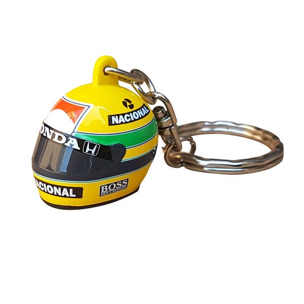 Ayrton Senna 3D klúčeka helmet 1988