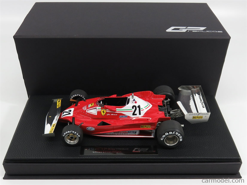 GP REPLICAS MODEL  FERRARI - F1 312T2 N 21 SEASON 1977 G.VILLENEUVE