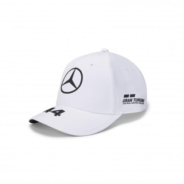 Šiltovka Mercedes Hamilton Baseball  White