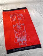 Osuška Ferrar červená 90 x 160 cm