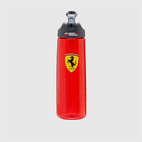 Športová fľaška na vodu červená