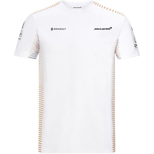 Tímové tričko Mclaren biele