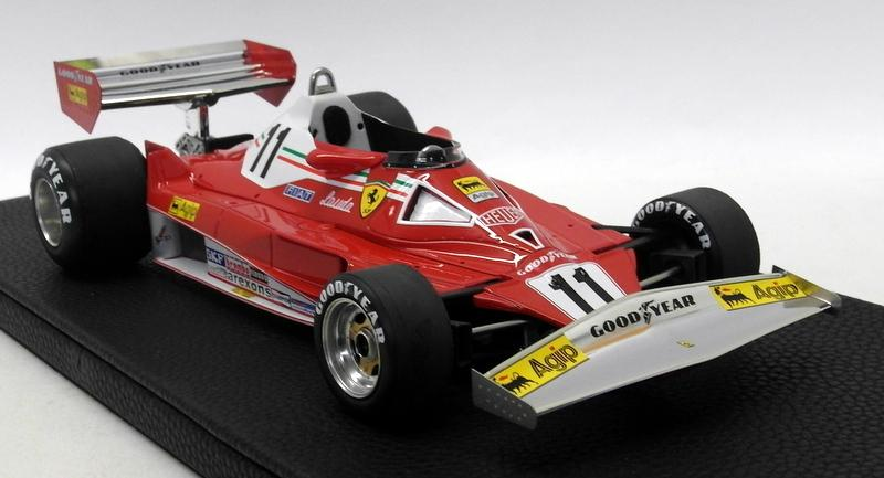 Niki Lauda GP Replicas 1/18 Scale - GP14A Ferrari 312 T2 1977 Niki Lauda World Champion Early Version