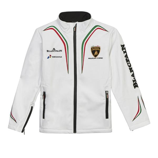 Lamborghini Squadra Corse Mens Softshell Jacket