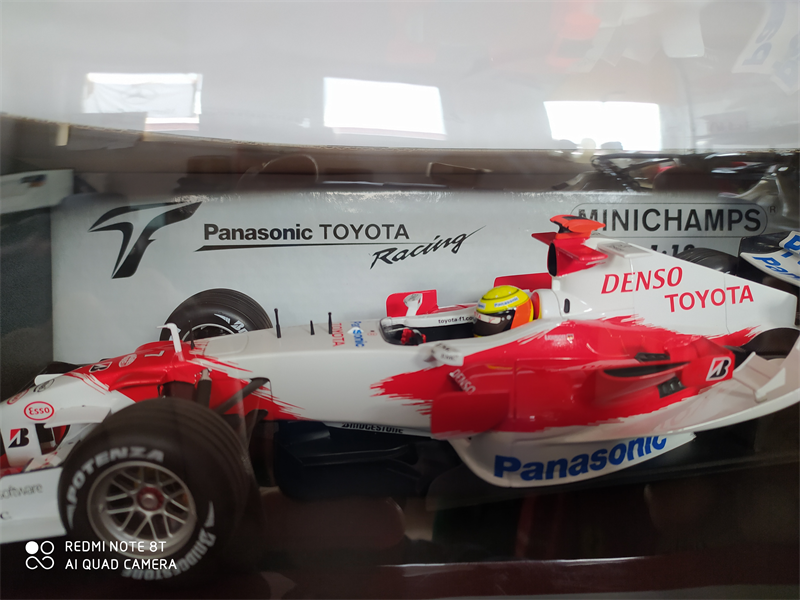 MINICHAMPS MODEL Model  Toyota Panasonic Racing TF106
