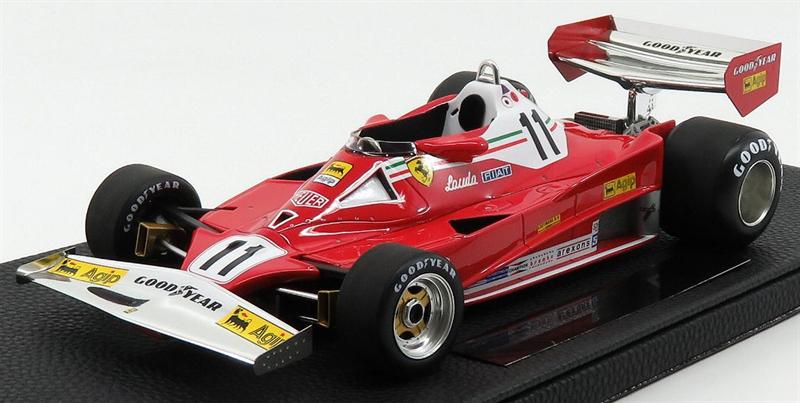 Model Niki Lauda FERRARI - F1 312T2 N 11 WINNER DUTCH ZANDVOORT GP WORLD CHAMPION 1977