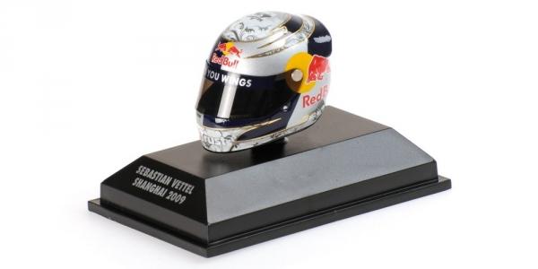 Minichamps Arai Helma Shangai 2009- Sebastian Vettel 1/8 Scale