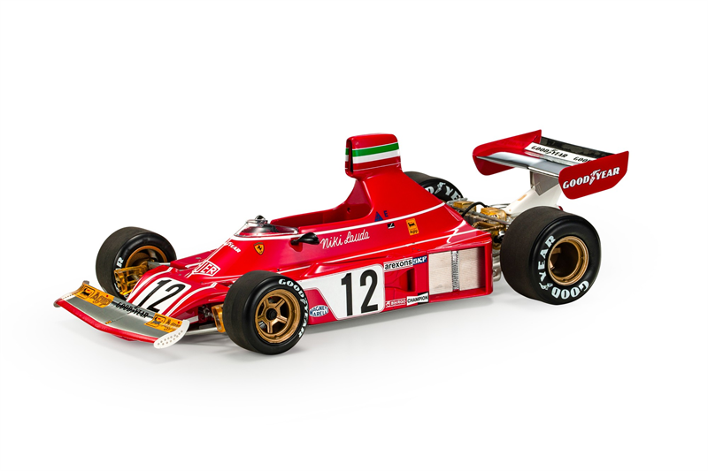 GP REPLICAS MODEL - FERRARI - F1 312 B3 Niki Lauda