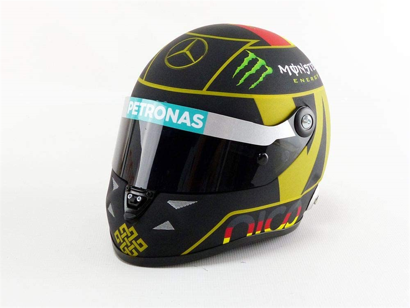Mini Helma Nico Rosberg German GP 2014 World Cup