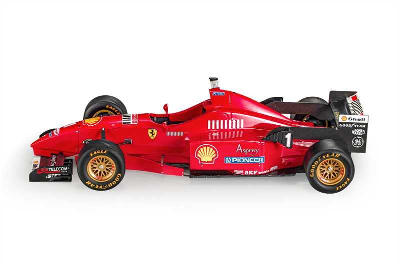 GP REPLICAS MODEL  Scuderia Ferrari F1 F1310 Michael Schumacher
