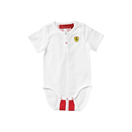 Detské body Scuderia Ferrari biele