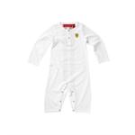 Detské pyžamko Scuderia Ferrari Biele