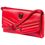 Dámska kabelka Ferrari červená malá