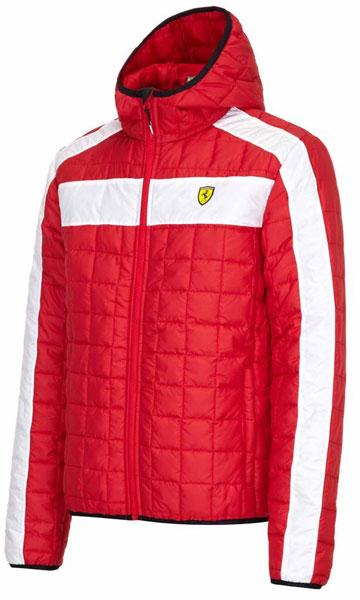 Pánska Vetrovka Scuderia Ferrari červená