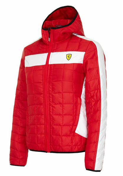 Women Jacket Ferrari RED
