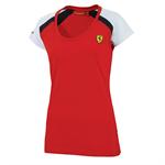 Dámske tričko Scuderia Ferrari  RACE červené