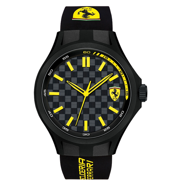 Watch Pit Crew Yellow/Black 44MM