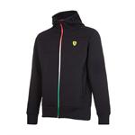Mikina Scuderia Ferrari Tricolore čierna