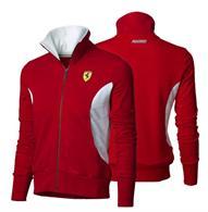Dámska Mikina Scuderia Ferrari Zipper červená